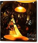 Tapas Bar Reflection Acrylic Print