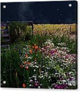 Tapestry In The Wild Acrylic Print