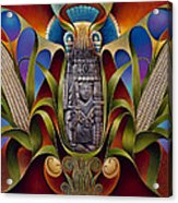 Tapestry Of Gods - Chicomecoatl Acrylic Print