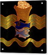 Tapestry Of Holy Sacraments 2 Acrylic Print