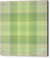 Tapeten-wallpaper-green-mix-checkered Acrylic Print