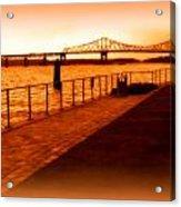Tappan Zee Bridge IIi Acrylic Print
