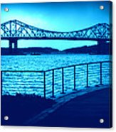 Tappan Zee Bridge Vii Acrylic Print