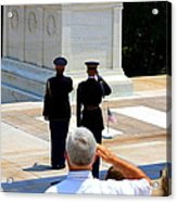 Taps At The Tomb Of The Unknown Acrylic Print