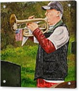 Taps For Troops Acrylic Print