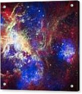 Tarantula Nebula 6  Acrylic Print by Jennifer Rondinelli Reilly - Fine Art Photography