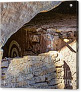 Target Bullseye Anasazi Ruin Acrylic Print