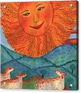 Tarot 19 The Sun Acrylic Print