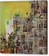 Tarot Card Set Acrylic Print