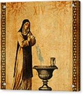 Tarot Card Temperance  Acrylic Print