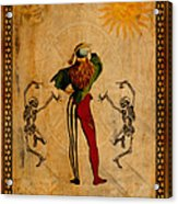 Tarot Card The Fool Acrylic Print