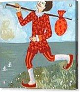 Tarot The Fool Acrylic Print