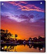 Tarpon Springs Glow Acrylic Print
