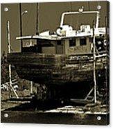 Tarpon Springs Sponge Boat Acrylic Print