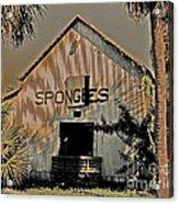 Tarpon Springs Warehouse Acrylic Print
