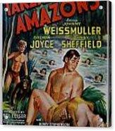 Tarzan And The Amazons Acrylic Print