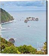 Tasman Sea At West Coast Of South Island Of New Zealand Acrylic Print