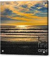 Tasman Sunset Acrylic Print