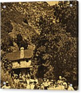 Tassajara Hot Springs Monterey County Calif. 1915 Acrylic Print