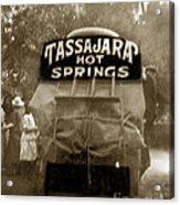 Tassajara Hot Springs Stage Monterey Co. California Circa 1910 Acrylic Print