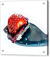 Taste Sensation On A Silver Spoon Acrylic Print