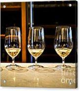 Tasting Wine Acrylic Print