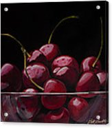 Tasty Cherries Acrylic Print