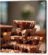 Tasty Chocolate Acrylic Print
