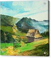 Tatry Mountains Acrylic Print