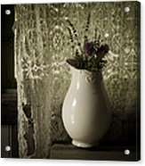 Tattered Acrylic Print by Amy Weiss