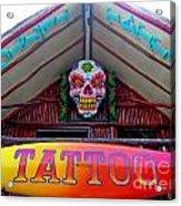 Tattoo Sign  Acrylic Print