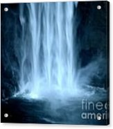 Taughannock Falls Closeup  Acrylic Print