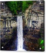 Taughannock Falls Ulysses Ny Acrylic Print