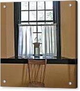 Tavern Window And Chair Acrylic Print