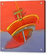Tavira Fishing Boat Acrylic Print
