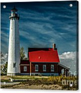 Tawas Point Lighthouse Acrylic Print