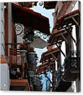 Taxco Balconies Acrylic Print