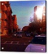 Taxi - Boston Acrylic Print