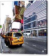Taxi Man Acrylic Print