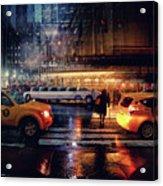 Taxi Acrylic Print