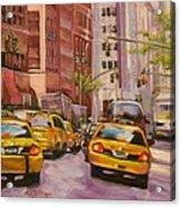 Taxi Taxi Acrylic Print