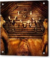 Taxidermy - Home Of The Three Bears Acrylic Print
