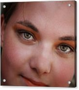 Taylor And Her Eyes Acrylic Print