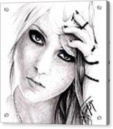 Taylor Momsen Acrylic Print
