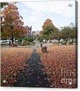 Taylor Park St Albans Vermont Acrylic Print
