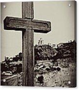 Tbilisi Cross Acrylic Print