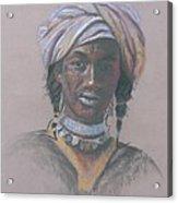 Tchad Warrior Acrylic Print