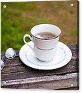 Tea And Art Acrylic Print