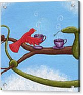 Tea And Eggs Acrylic Print