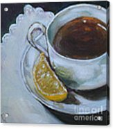 Tea And Lemon Acrylic Print